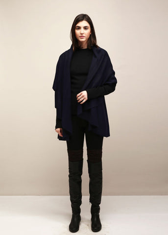 Perfect Shawl Vest - Navy