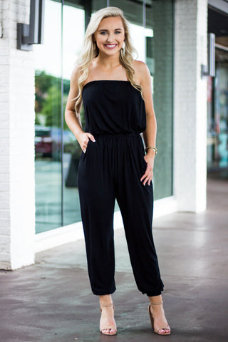 Piko Jumpsuit - Black