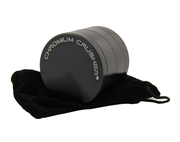 "Can You Sphere Me - 2.25"" Premium Black Herb Grinder - Custom Designed , Grinders - Zip Grinders, Zip Grinders  - 5"