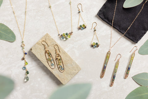 woodland dryad jewelry collection