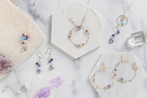 mystic water naiad jewelry collection
