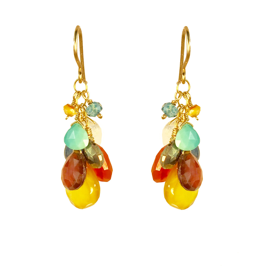 Desert Sunset Cluster Earring