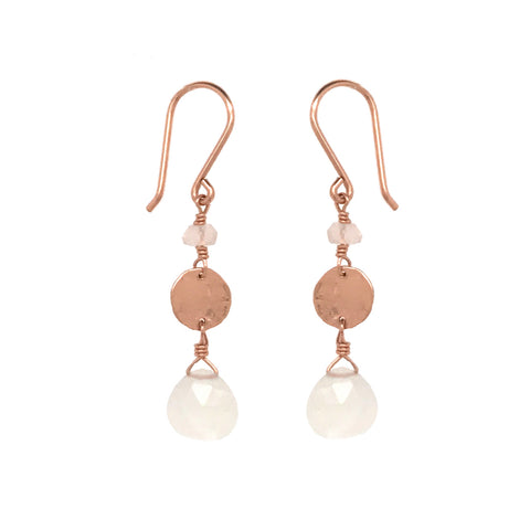 Charming Disc Earring