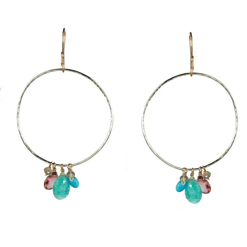 Dramatic Hoops Earring