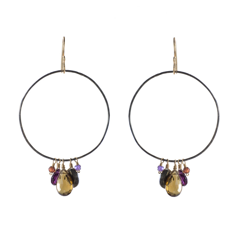 Revelry Exaggerated Hoop Earring