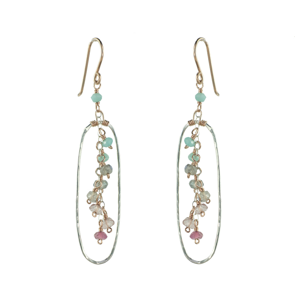 Long Oval Earring