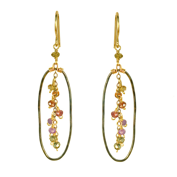 Oblong Passion Earring