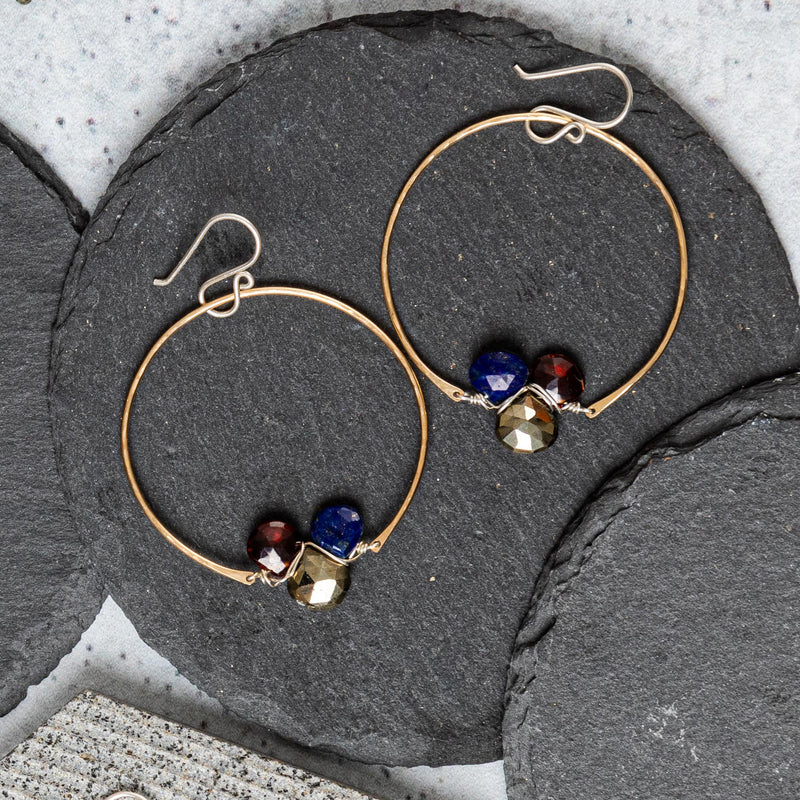 Twilight Hoop Earring