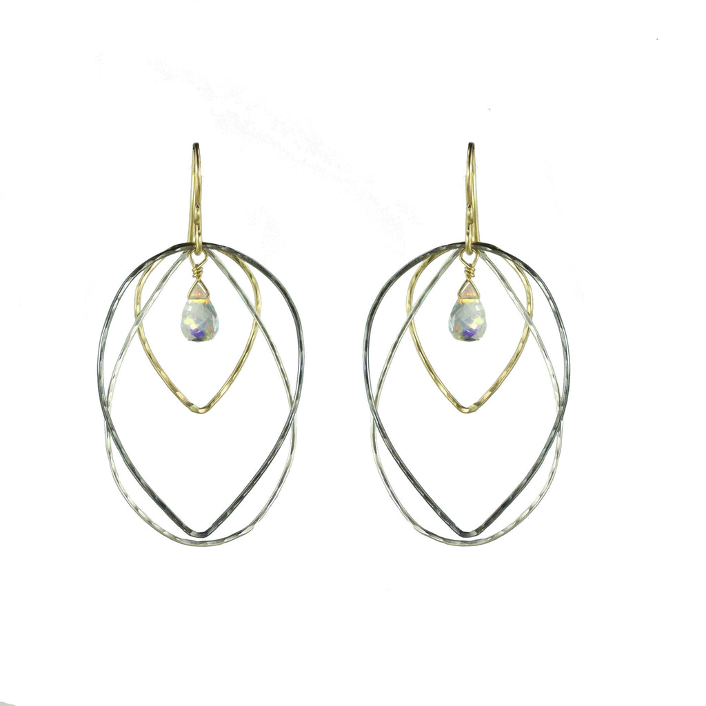 Fire Quartz Earring