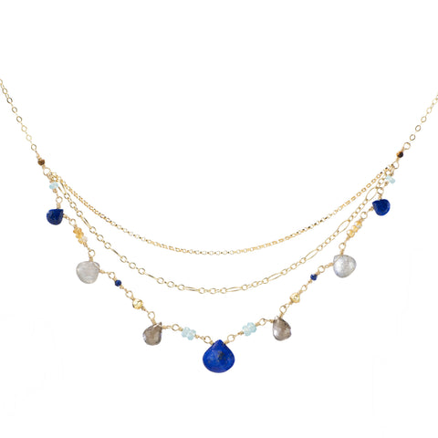 Triple Tier Royal Necklace
