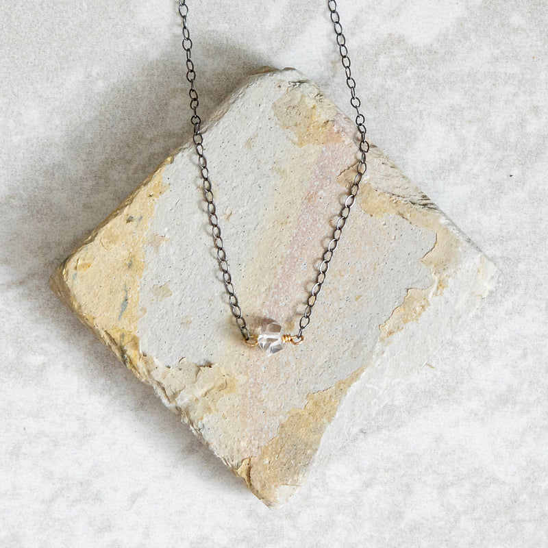 Solo Herkimer Necklace