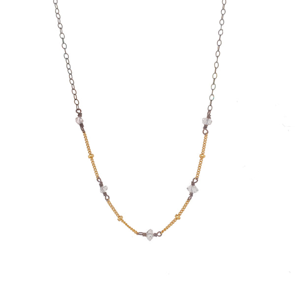 Herkimer Chain Necklace