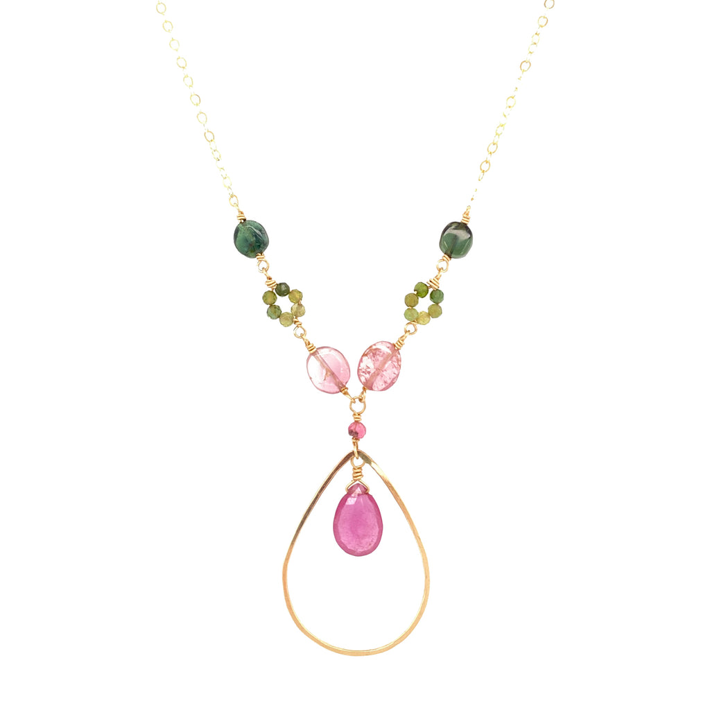 Mystical Tourmaline Necklace