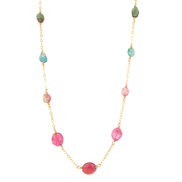 Tourmaline Oval Necklace