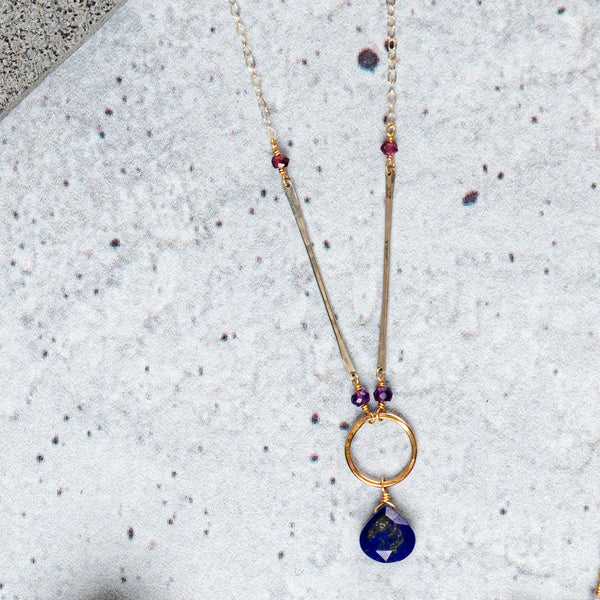 Celestial Body Pendant Necklace