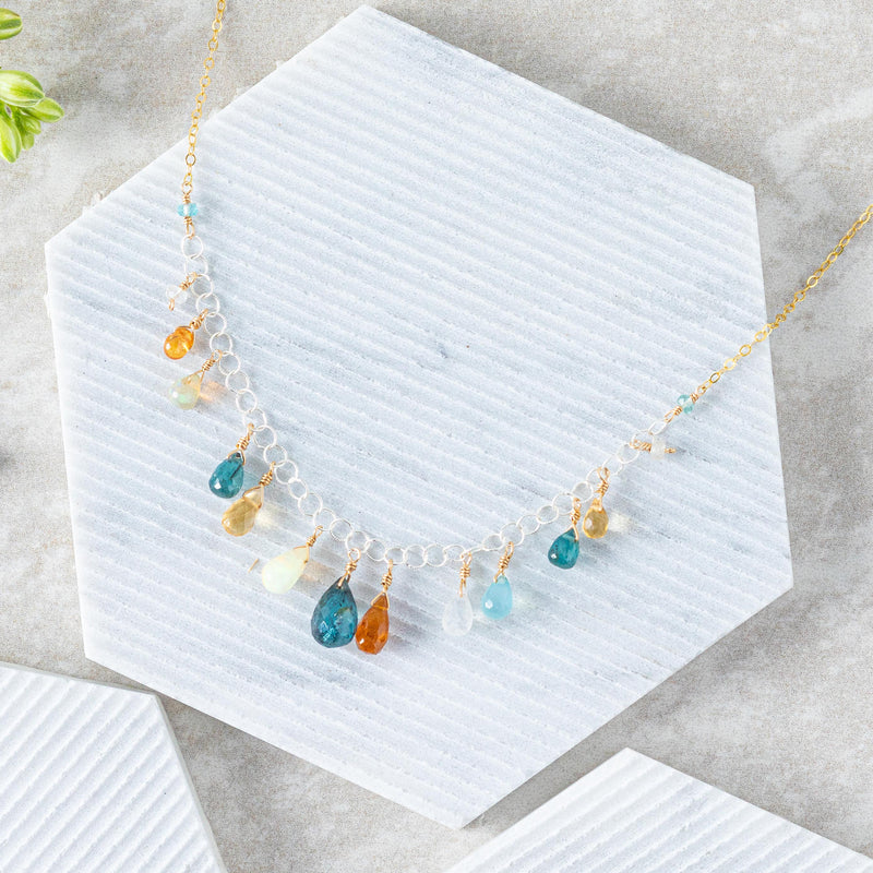 Garden Droplets Necklace