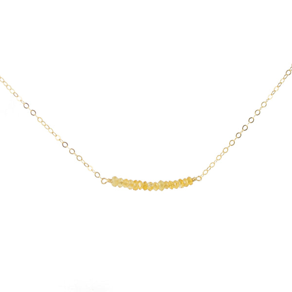 Citrine Gembar Necklace