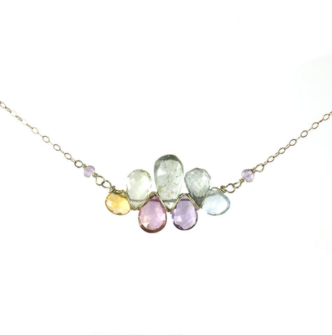 Pastel Pendant Necklace
