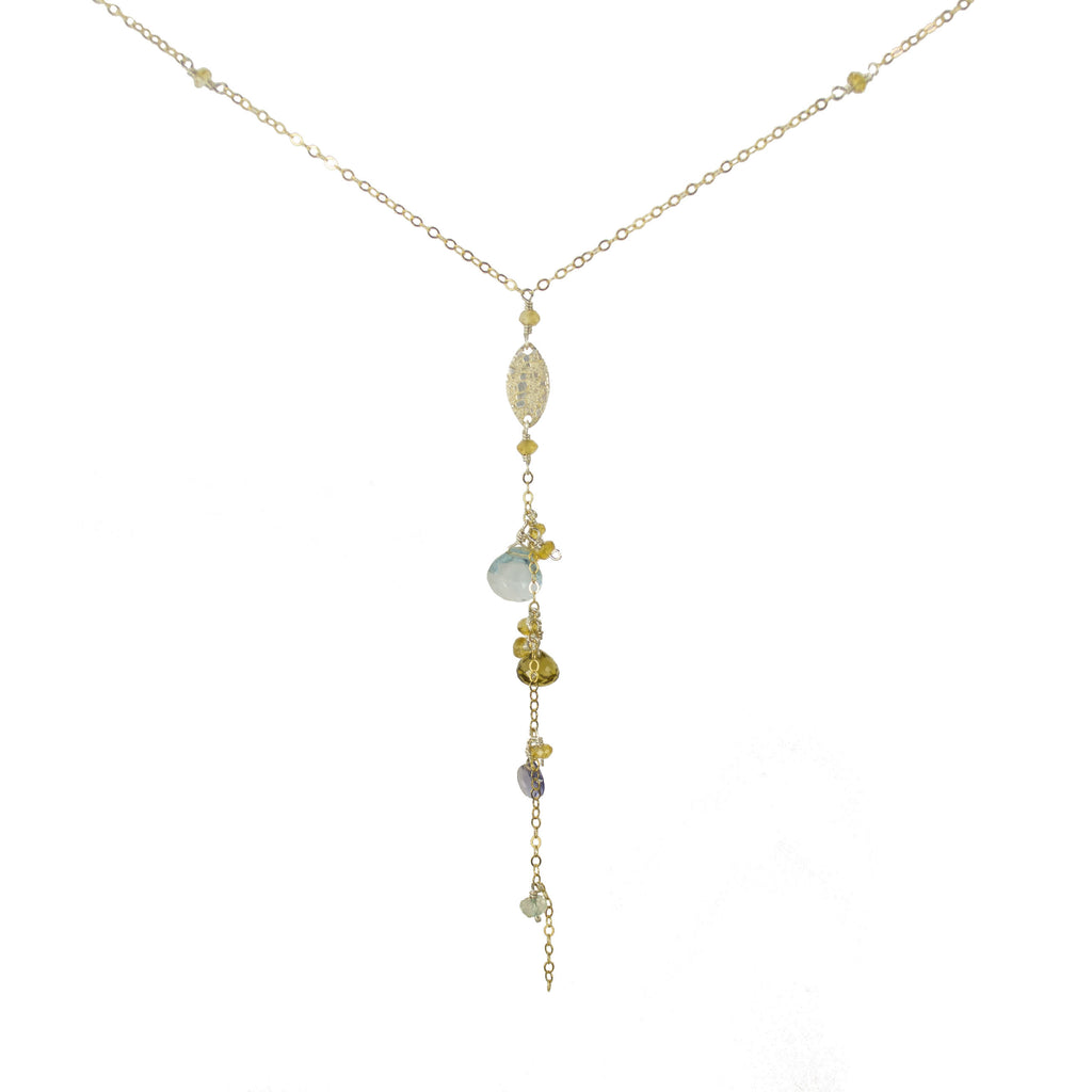 Gossamer Gold Strand Necklace