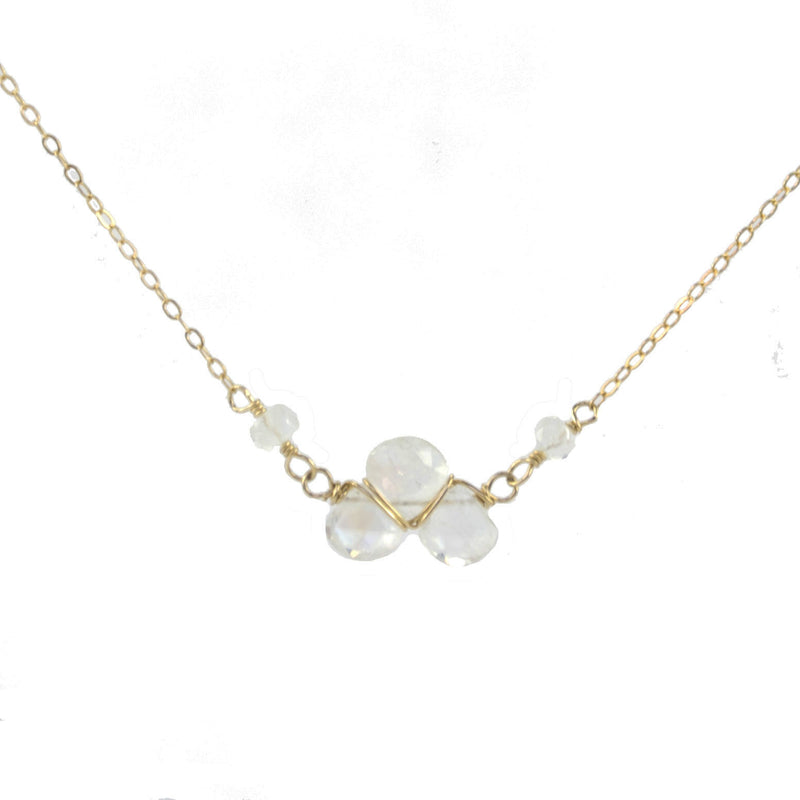 Stardust Moonstone Necklace