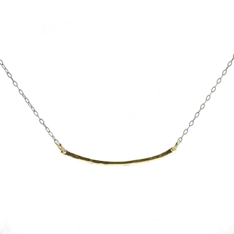 Gold Bar Necklace **Featured on Law and Order: SVU