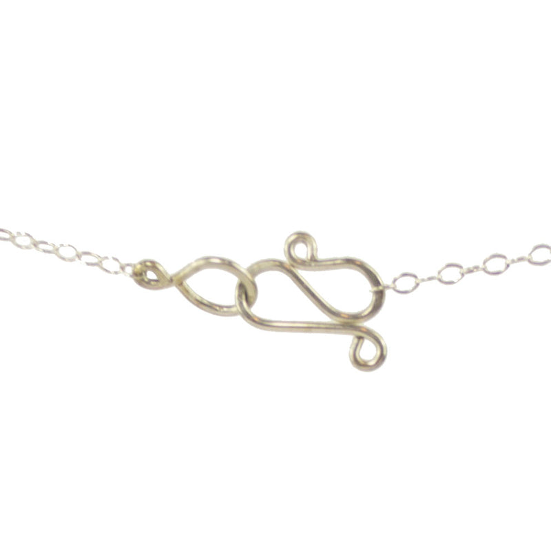 "Classic vannucci tension ""S"" necklace clasp"
