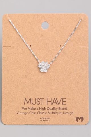 Paw Bling Necklace