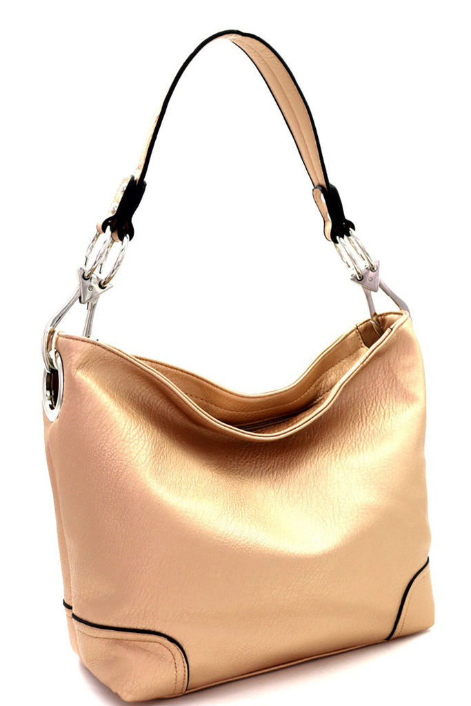 Abby Rose Gold Bucket Bag