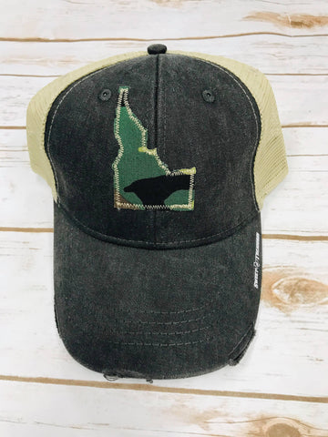 Idaho Camo Patch Trucker Hat