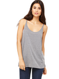 Slouchy Basic Tank - Heather Gray
