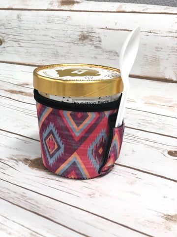 Aztec Pint Size Ice Cream Handler