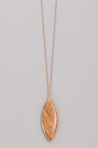 Jessa Stone Pendant Necklace