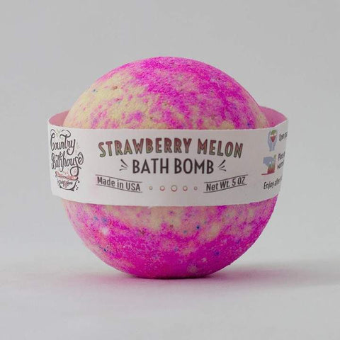 Strawberry Melon Bath Bombs