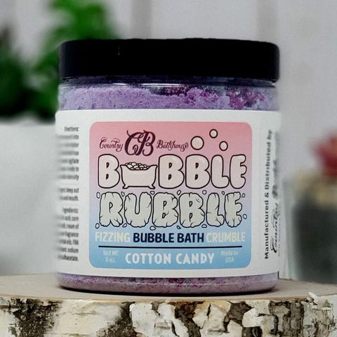Bubble Rubble Bath - Cotton Candy