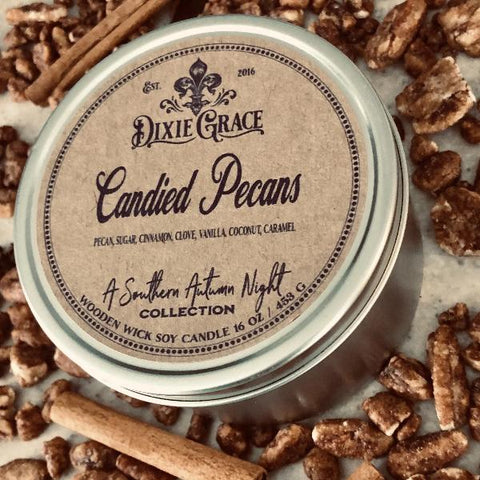 Candied Pecans Candle