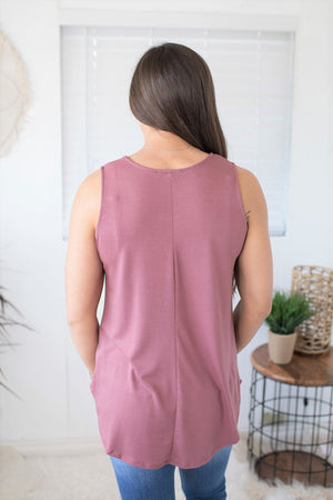 Basic Mauve Scoop Tank (SM-3X)