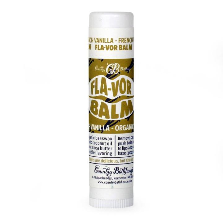 French Vanilla Fla-vor Lip Balm