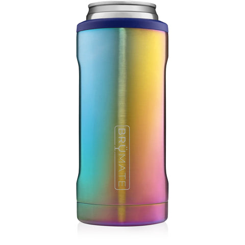 Limited Edition BruMate Hopsulator Slim - Rainbow Titanium