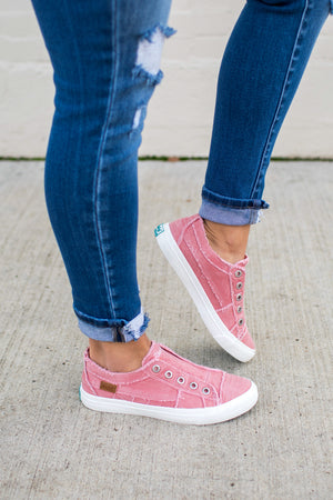 Blowfish Dusty Pink Slip On Sneakers