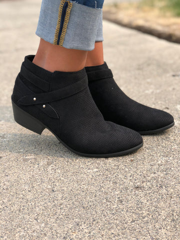 Black Portia Booties