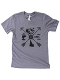 idaho arrow graphic tee