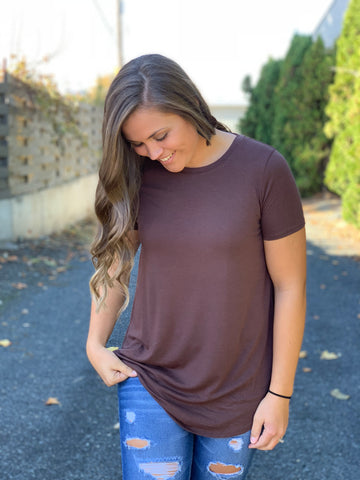 Brown Perfect Tee