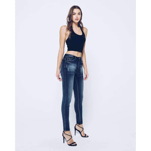 KanCan Faded Lexis High Rise Skinny Jeans