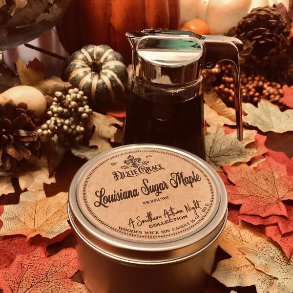 Louisiana Sugar Maple Candle