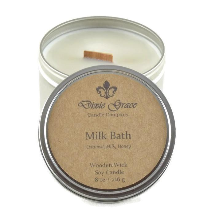 Milk Bath Candle