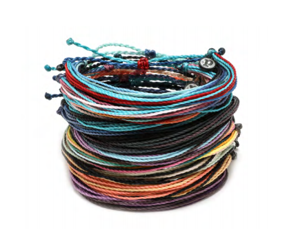 The Original Pura Vida Bracelet-Muted Solid