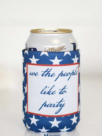 We The People Like To Party Can Cooler