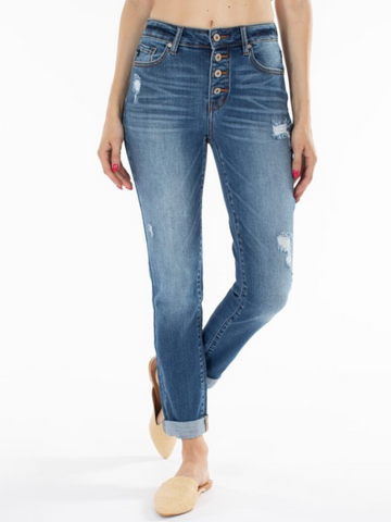 KanCan Distressed Gemma Jeans