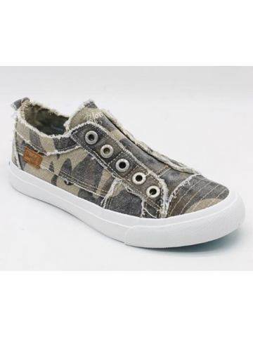 Blowfish Camo Slip On Sneakers