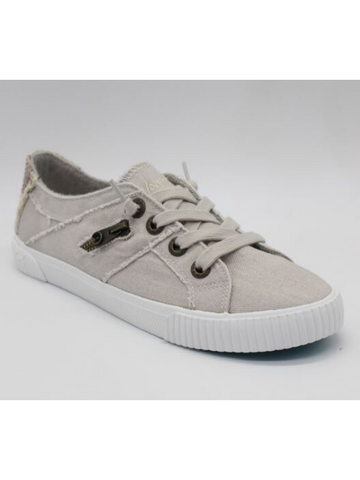 Blowfish Sand Gray Fruit Lace Up Sneakers